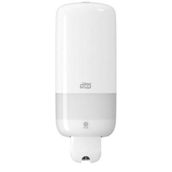 Distributeur gel hydro-alcoolique Tork blanc 1L