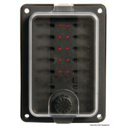 Boîte porte fusibles à fiche 10 sorties 12V 24V étanche