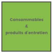 Consommables et produits d'entretien